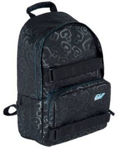 Enuff Skateboard Backpack - Black / Blue