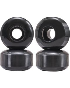 Essentials 95A Skateboard Wheels - Black