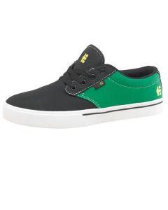 Etnies Jameson 2 Eco Skate Shoes - Black / Green UK2