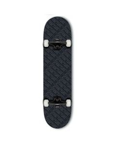 """Fracture All Over Comic Black Complete Skateboard 8.25"""" x 31.875"""""""