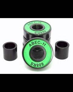 Logic Green ABEC 11 High Performance Scooter Bearings x4 Set