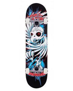 "Birdhouse Stage 1 Hawk Spiral Black Complete Skateboard - 7.75"" x 31.25"""