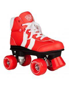 Rookie Retro V2 Roller Skates - Red / White