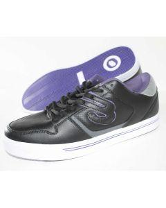 Elyts DB1 Low Top Skate Shoes - Black / Purple UK12