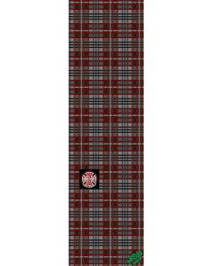 """MOB Graphic X Independent Plaid Skateboard Griptape  - 9"""" x 33"""""""