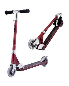JD Bug Classic Street 120 Red Glow Pearl Push Foldable Scooter