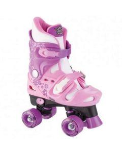 Xootz Pink Adjustable Quad Roller Skates