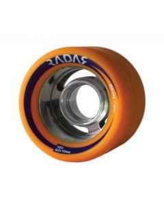 Radar Devil Ray Derby Wheels Orange – 59mm 95A x4