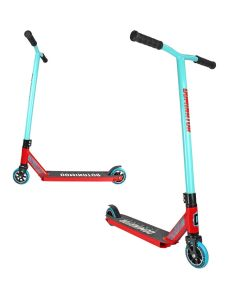 Dominator Ranger Complete Scooter - Turquoise / Red