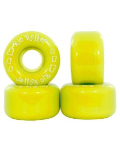Rio Roller Coaster Quad Skate Wheels - Yellow