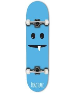"""Fracture Lil Monsters Series Complete Skateboard - Blue 7.75"""""""