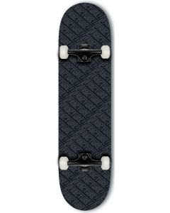 """Fracture All Over Comic Series Complete Skateboard - Black 8"""""""