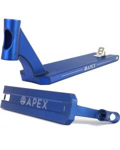 """Apex Pro Blue Wide Boxed Street Pro Scooter Deck – 600mm/23.6"""" or 620mm/24.4"""" X 5""""/127mm"""