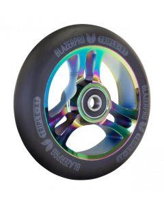 Blazer Pro Triple XT 110mm Scooter Wheel - Black / Neochrome