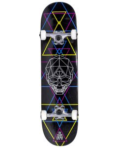 "Enuff Geo Skull 8"" Complete Skateboard - CMYK"