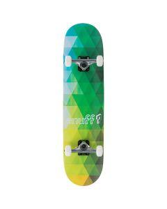Enuff Geometric Complete Skateboard - Green