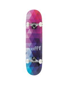 Enuff Geometric Complete Skateboard - Purple