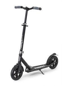 Frenzy 205mm Pneumatic Plus Folding Commuter Scooter – Black / Black