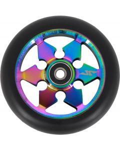 JP Scooters Ninja Scooter Wheels - Neochrome - 110mm
