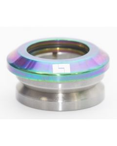 Logic Neochrome Rainbow Oil Slick Integrated Scooter Headset