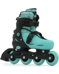 SFR Plasma Green Adjustable Inline Skates / Rollerblades