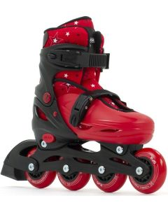SFR Plasma Red Adjustable Inline Skates / Rollerblades