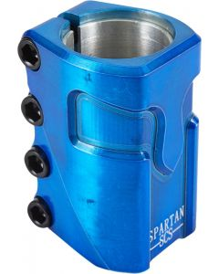 Supremacy Spartan SCS Scooter Clamp - Trans Blue