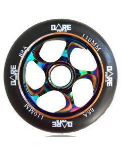 Dare Swift V2 110mm Scooter Wheel - Black / Neochrome
