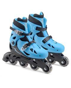 Xootz Adjustable Inline Roller Skates - Blue