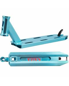 """Longway S-Line Kaiza Pro Scooter Deck - Teal Blue - 19"""" x 4.5"""""""