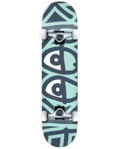 "Krooked ""Big Eyes Too"" Complete Skateboard - Green 8"""