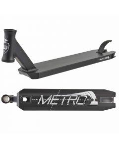 "Longway Metro Scooter Deck - Black - 19.7"" x 4.3"""