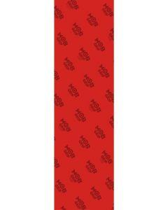 "MOB Trans Colours Red Skateboard Griptape  - 9"" x 33"""
