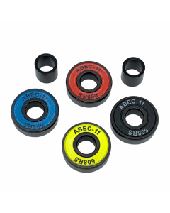 Logic Multi Color ABEC 11 High Performance Scooter Bearings x4 Set
