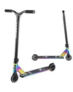 Panda Primus Pro Stunt Scooter - Full Rainbow Neochrome