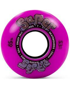 Enuff Super Softie 85a Skateboard Wheels - Purple
