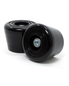Rio Roller Toe Stops - Black