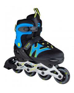 Skatelife Motion Adjustable Inline Skates - Black / Blue