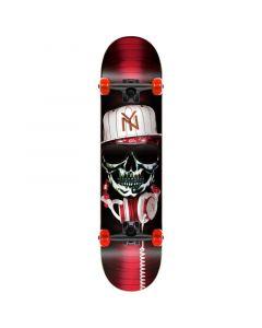 "Speed Demons Gang Krook Red Complete Skateboard - 31"" X 8"""