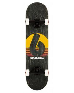 "Birdhouse Stage 3 Black Sunset Complete Skateboard - 8"" x 31.5"""