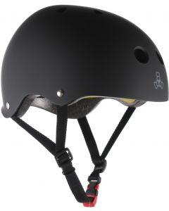 Triple 8 Brainsaver II Dual Certified MIPS Helmet - Black