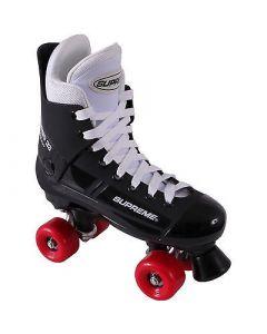 Supreme Turbo 33 Black / Red Quad Skates w/ Flash 62 Wheels - UK5 Only