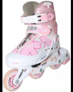 Velocity Butterfly Adjustable Inline Skates - Pink