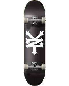 """Zoo York OG95 Crackerjack Black White Complete Skateboard - 31.5"""" x 8"""""""