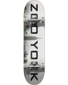 "Zoo York Logo Block Fog Complete Skateboard - 31.5""  x 7.75"""