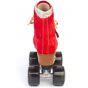 Moxi Poppy Red Quad Roller Skates - UK5 / EU38 ONLY