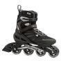 Rollerblade 2019 Zetrablade Inline Skates - Black / Silver