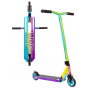Crisp Surge 2020 Complete Stunt Scooter - Chrome Blue / Green / Purple