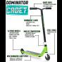 Dominator Cadet 2021 Complete Pro Stunt Scooter - Blue White