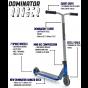Dominator Ranger 2021 Complete Scooter - Blue / Grey